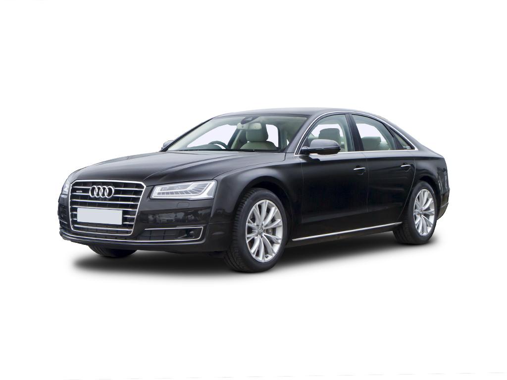 Audi A8 2 Black side view