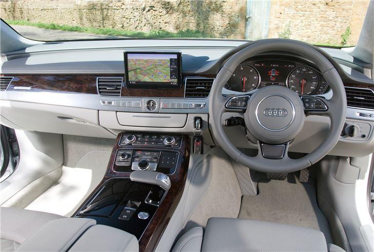 Audi A8 3 Cream interior right hand drive