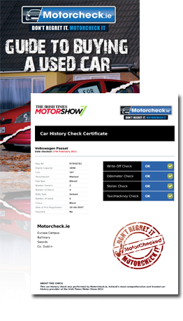 Free Car History Certificates