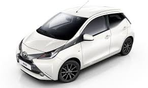 Reliability Ratings 6 White side view of the Toyota Aygo