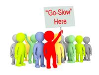 Public Sector Go-Slow