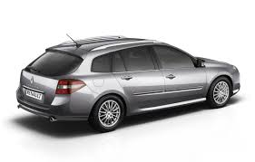 renault Laguna 2 Mark III Grey side and back view