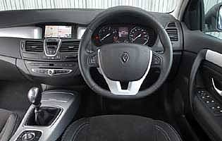 renault Laguna 4 grey Mark III interior