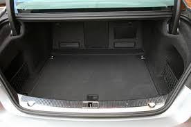 Audi A8 4 Boot view