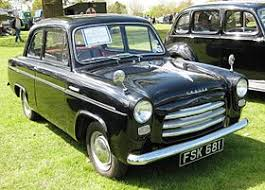 MOT 3 Black Ford Anglia