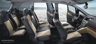 Opel Zafira 4 2010 Side interior view