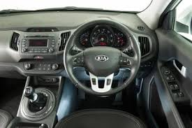 Kia Sportage 5 2008 MkII internal view right hand drive