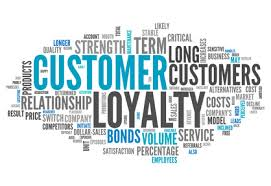 PCP 3 Customer Loyalty graphic with words