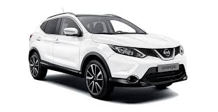 motoring trend 3 - White Nissan Qashquai 2018 side view