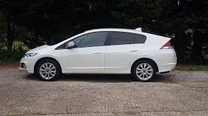 Honda Insight 1 IMA Hybrid 2013 White side view