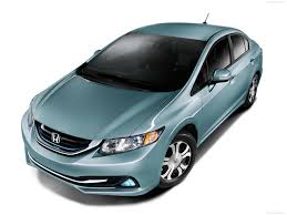 Honda Insight 4 Honda Civic Hybrid Power train 2013 top view