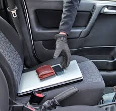 Car theft 3 Car breakin with items stolen from passenger seat