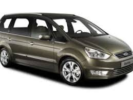 Ford S-Max 5 Brown 2014 Ford Galaxy side view
