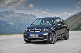 BMW i3 5 2018 version blue front view