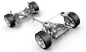 Electric car 4 Bare Powertrain image