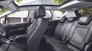 Opel Meriva 4 2016 Interior black seats view