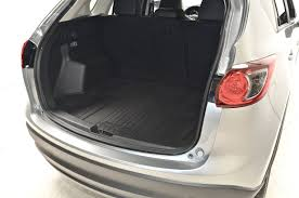 Mazda CX-5 4 2016 Silver Interior boot view