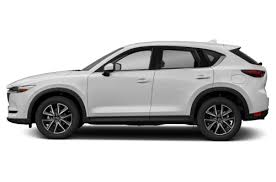 Mazda CX-5 5 2018 White Side view