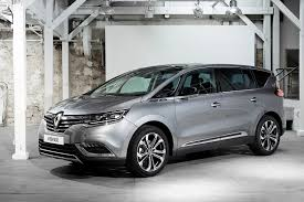 Family car 6 Renault Espace Grey side view