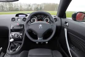 Peugeot RCZ 3 Interrior view
