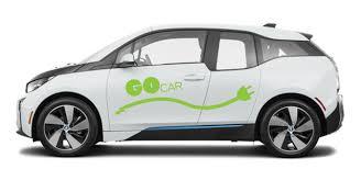 Car share 2 - White Gocar side view