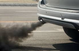 Car share 5 Exhaust fumes from a car
