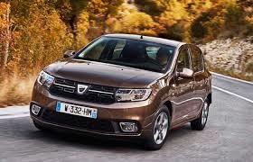 Dacia Sandero 5 Dacia Logan Brown 2018 front and side view