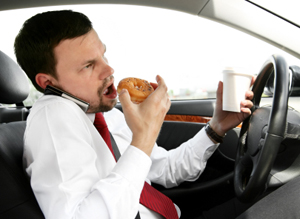 90% of Accidents Caused By Driver Distractions