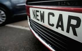 new car registrations